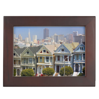San Francisco's Famous Painted Ladies Memory Box