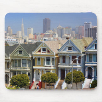 San Francisco's Famous Painted Ladies Mouse Pad