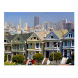 San Francisco's Famous Painted Ladies Post Cards