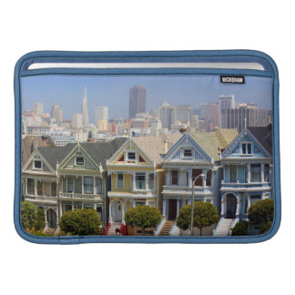San Francisco's Famous Painted Ladies Sleeve For MacBook Air