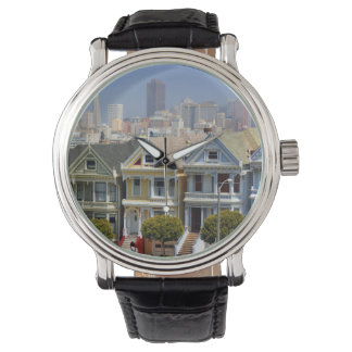 San Francisco's Famous Painted Ladies Watch