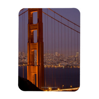 San Franciscos North Tower Vinyl Magnets