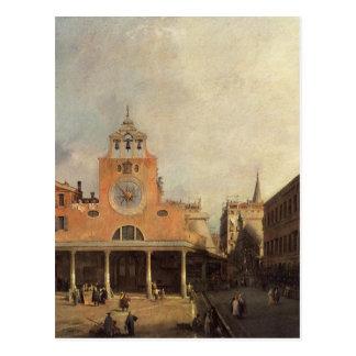 San Giacomo de Rialto by Canaletto Postcard