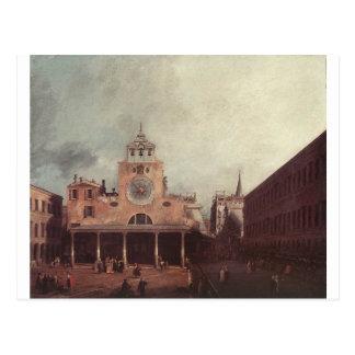 San Giacomo di Rialto by Canaletto Postcard