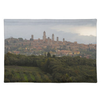 San Gimignano, Italy Placemats