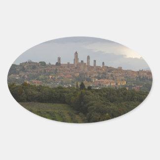 San Gimignano, Italy Sticker