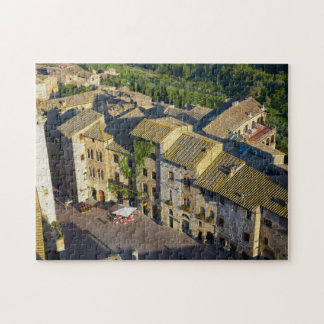 San Gimignano Old Town, Siena, Tuscany, Italy 2 Puzzle