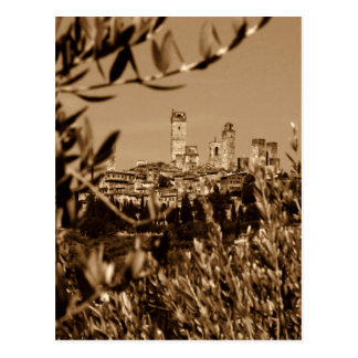 San Gimignano Postcard