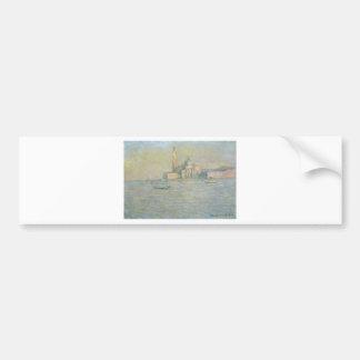 San Giorgio Maggiore 3 by Claude Monet Bumper Sticker