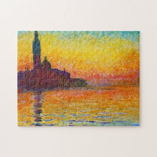 San Giorgio Maggiore at Dusk Claude Monet Jigsaw