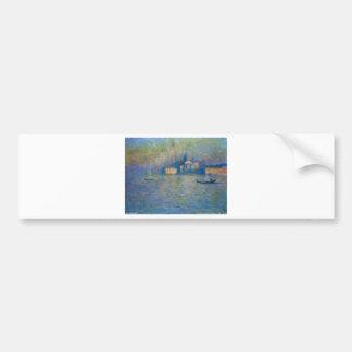 San Giorgio Maggiore, Twilight by Claude Monet Bumper Sticker