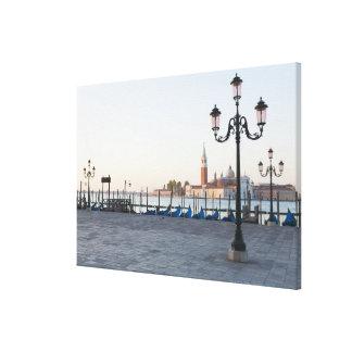 San Giorgio Maggiore viewed from Riva degli 2 Gallery Wrapped Canvas