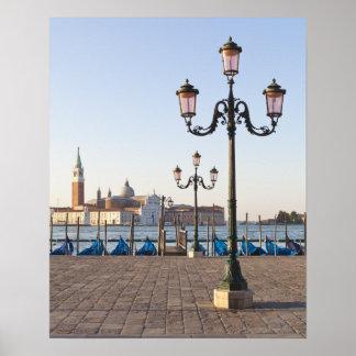 San Giorgio Maggiore viewed from Riva degli Print