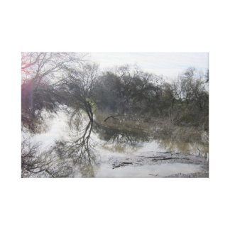 San Joaquin River, Lathrop, CA 1 Canvas Print