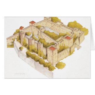 San Jorge castle. Lisboa Portugal Greeting Card