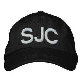 SAN JOSE* AIRPORT SJC Adjustable Hat Baseball Cap