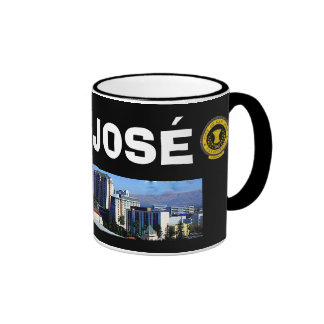 San José* California Panoramic Mug