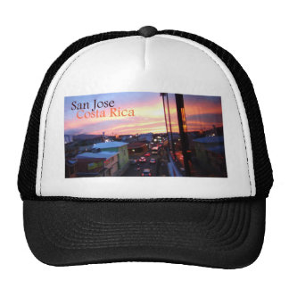 San Jose Costa Rica Sunset Hats