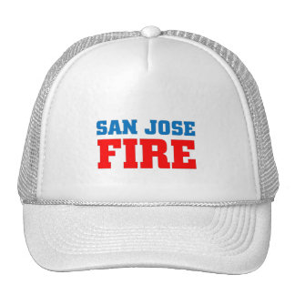 San Jose Fire Trucker Hat