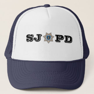 San Jose Police Department Trucker Hat
