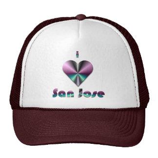 San Jose -- Purple & Turquoise Hats