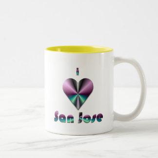 San Jose -- Purple & Turquoise Mug