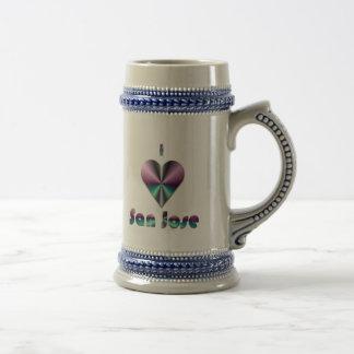 San Jose -- Purple & Turquoise Mugs
