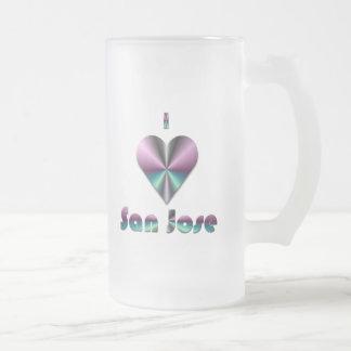 San Jose -- Purple & Turquoise Coffee Mug