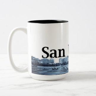 San Jose Skyline Wrap Around Mug