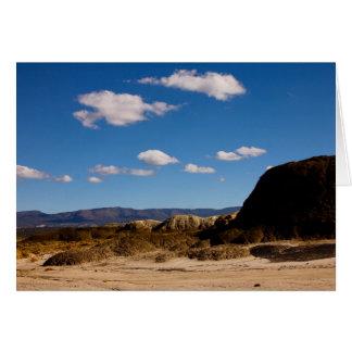 San Juan Badlands, New Mexico Card