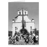 San Juan Chamula, Chiapas, Mexico Greeting Card