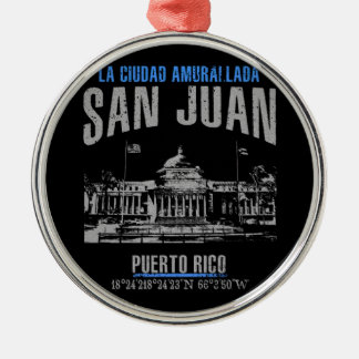San Juan Christmas Ornament