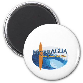 San Juan Del Sur 6 Cm Round Magnet