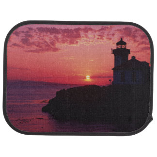 San Juan Island, Lime Kiln Lighthouse Car Mat