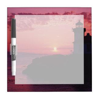San Juan Island, Lime Kiln Lighthouse Dry Erase Boards