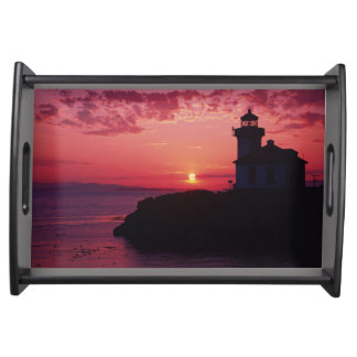 San Juan Island, Lime Kiln Lighthouse Serving Tray
