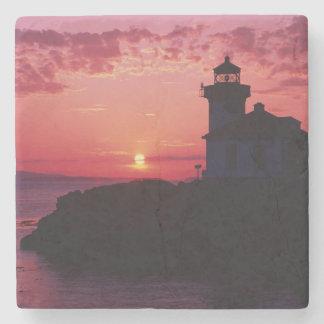 San Juan Island, Lime Kiln Lighthouse Stone Coaster
