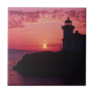 San Juan Island, Lime Kiln Lighthouse Tile