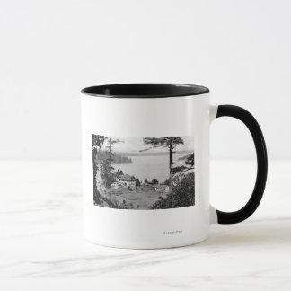 San Juan Island, WAGuam A Lama View Photograph Mug