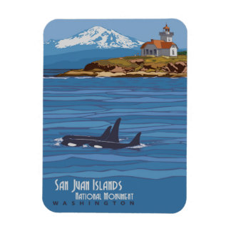 San Juan Islands Magnet