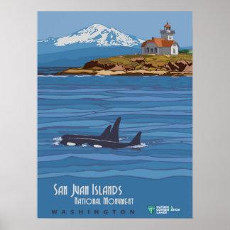 San Juan Islands Poster