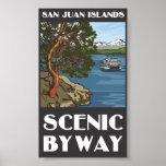 San Juan Islands Scenic Byway Poster