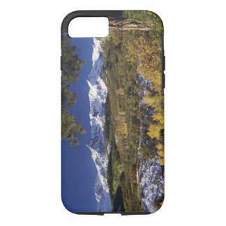 San Juan Mountains and Aspen trees in fallcolor iPhone 8/7 Case