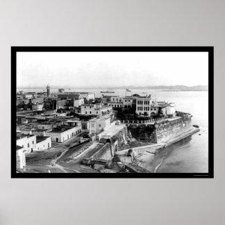 San Juan Puerto Rico 1905 Posters