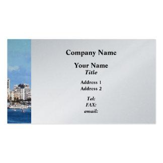 San Juan Skyline Business Card Templates
