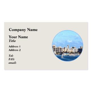San Juan Skyline Business Cards