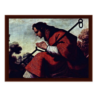 San Lorenzo By Zurbarán Francisco De Postcard