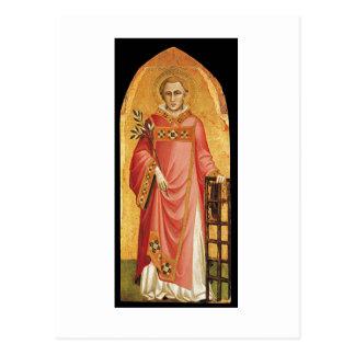 San Lorenzo postcard ( gold)