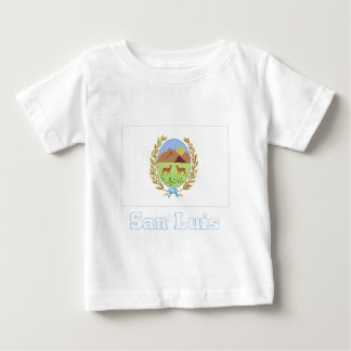 San Luis flag with name Baby T-Shirt