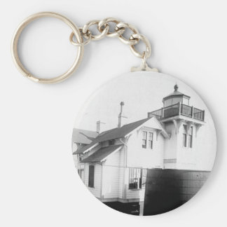 San Luis Obispo Lighthouse Basic Round Button Key Ring